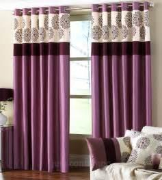 Clarimont plum purple designer lined curtain curtains