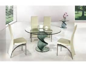 Glass Dining Table Chairs Dining Glass Table And Chairs 187 Gallery Dining