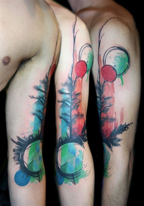 watercolor tattoo san francisco done by deanna wardin yelp