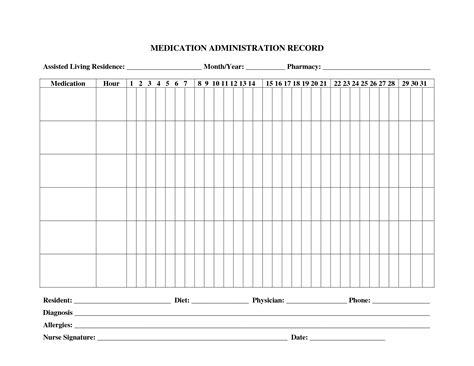 28 images of medication log sheet template leseriail com