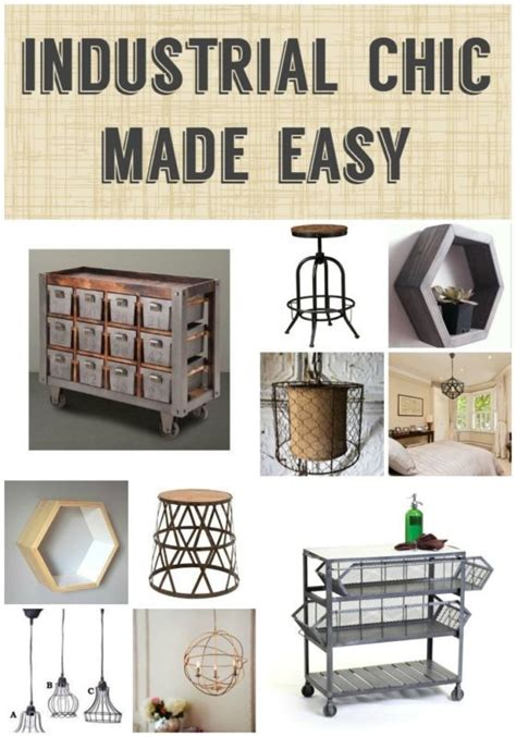 industrial chic home decor 17 best ideas about chic decor on