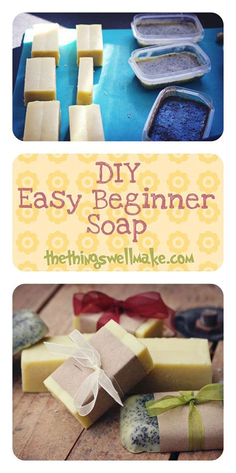 how to make soap diy tutorials