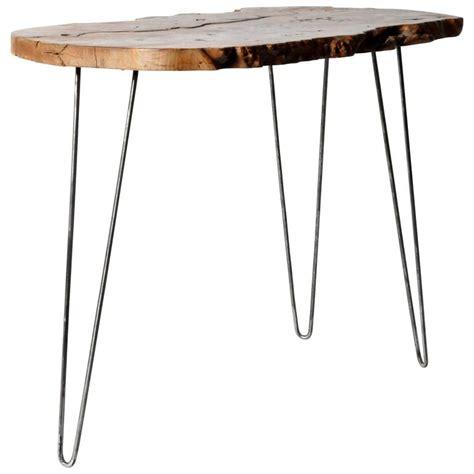 walnut slab table reclaimed walnut slab side table for sale at 1stdibs