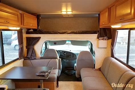 ford cutaway motor home class  rental  calgary ab