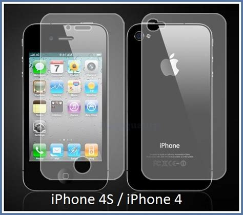 Screenguard Iphone 4 4s Capdase Diskon za蝪芻itna folija screenguard za apple iphone 4s iphone 4 spredaj zadaj mobiterra