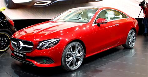 new mercedes e400 4matic coupe revealed