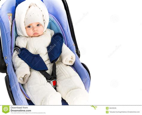 6 month baby big for car seat six month baby in a car seat stock photo image 58433535