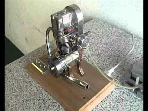 Lu Motor eigenbau einzylinder ohc motor lu modellmotor