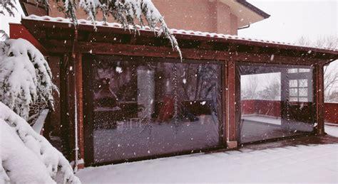verande per bar tende avvolgibili protezione solare e chiusure invernali