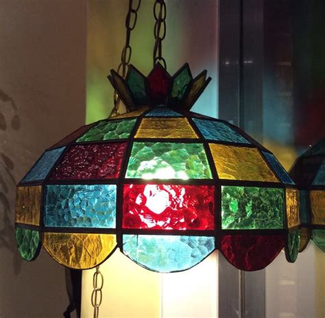 tiffany stained glass hanging light seductive tiffany stained glass hanging l glass l