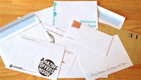 Gift Card Envelope Printing - envelope printing printing blog print design blog gt by stationery direct