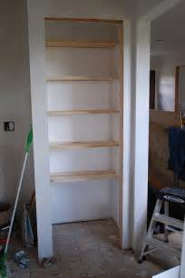 how to build shelving in a closet best way to organize pantry shelves in closet