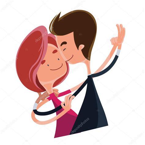 imagenes de amor niños animados pareja de enamorados bailando vector ilustraci 243 n de