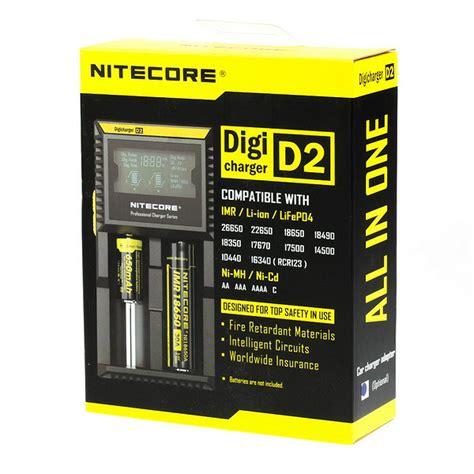 Nitecore F1 Universal Battery Charger 1 Slot F nitecore d2 external battery charger vapros europe