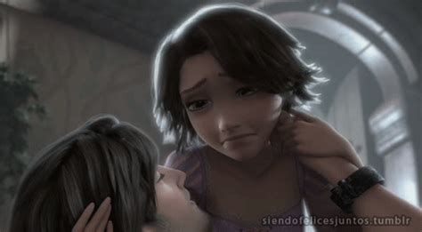 imagenes de rapunzel llorando love tangled disney kiss rapunzel amor true love love you