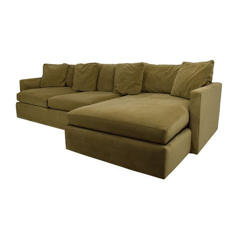 Lounge 2 Sectional Sofa by 65 Crate And Barrel Crate And Barrel Lounge Ii