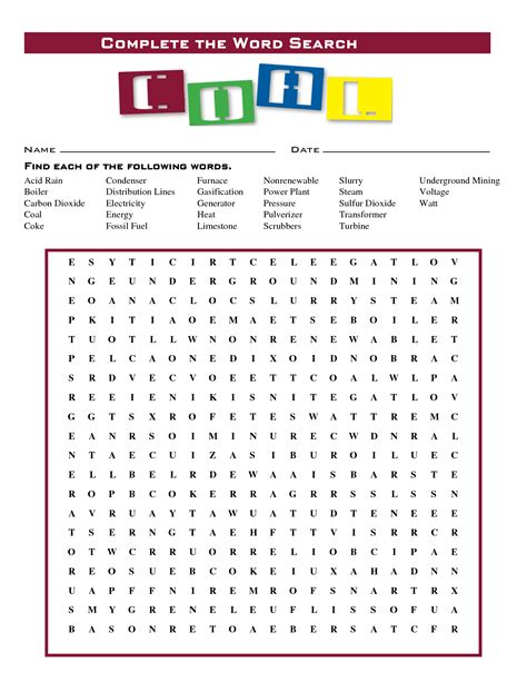 printable word search electricity 5 best images of energy word search printable energy