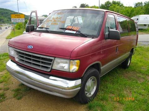 how it works cars 1995 ford club wagon on board diagnostic system buy used 1995 ford e 150 econoline club wagon chateau standard passenger van 2 door 5 8l in