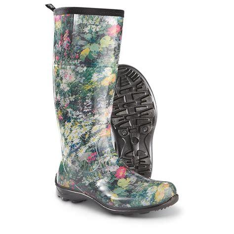 s kamik rubber boots 622631 rubber