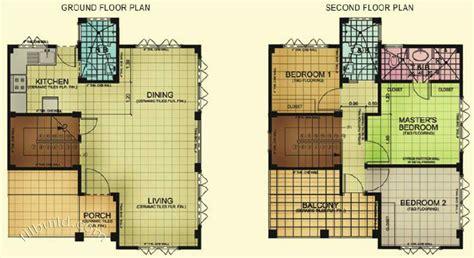 3 Bedroom 2 Bath 2 Car Garage Floor Plans by Minglanilla Cebu Real Estate Home Lot For Sale At