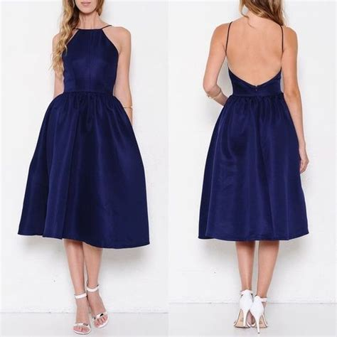 Baby Dress Matrix Blue flare midi dresses and fit and flare on