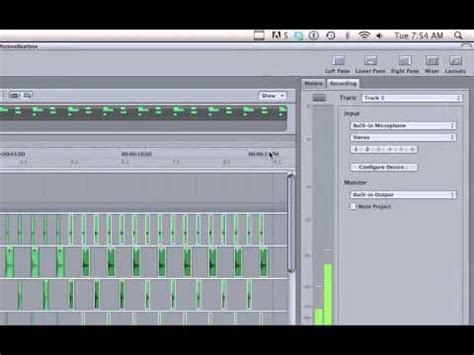 tutorial beatbox pro soundtrack pro recording sequencing mixing exporting