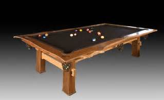 custom made pool table by cabinetmaker birdie miller