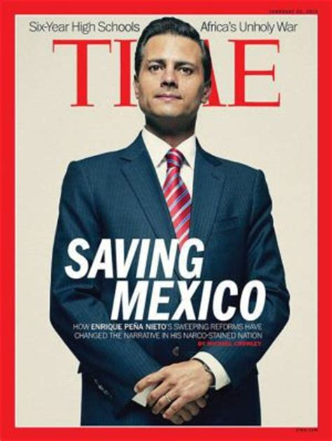 la revista 'time' causa polémica con una portada de peña