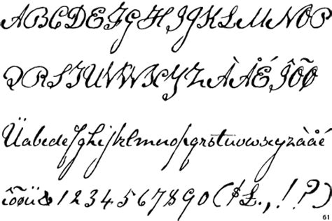 tattoo fonts exles 18th century handwriting and script font nanopics pictures
