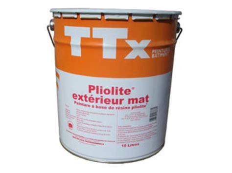 peinture fa 231 ade garnissante ttx pliolite ext 233 rieur mat contact peintures onip