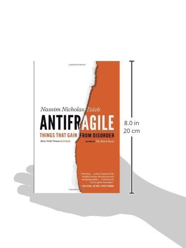 libro antifragile things that gain antifragile things that gain from disorder incerto buy online in uae paperback products
