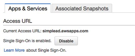 aws console url aws directory service simple ad のみでユーザ管理 aws management