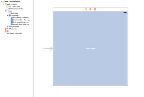 scrollview fill parent with layout weight make uiscrollview fill parent view with constraints ios