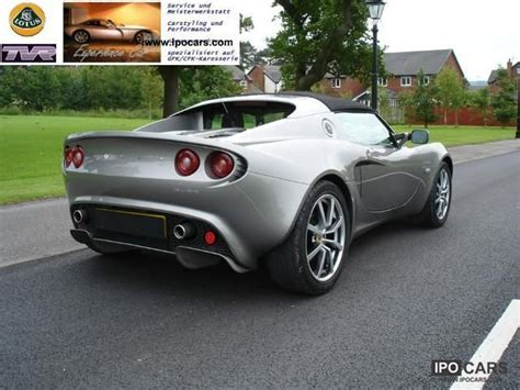 old car owners manuals 2004 lotus elise electronic valve timing 2004 lotus elise 111 s car photo and specs