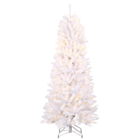 color changing led christmas lights home depot home accents holiday 6 ft pre lit white fraser with warm