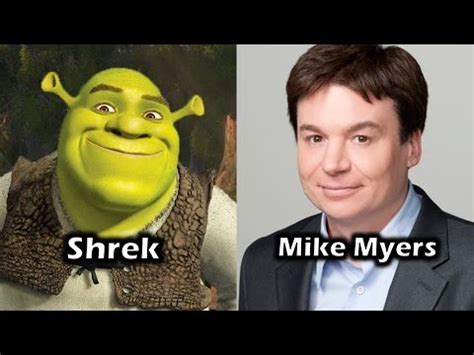 mike myers real voice mike myers shrek trump
