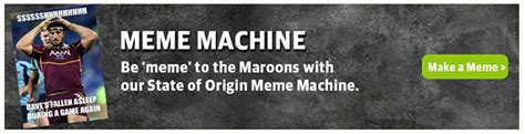 Nsw Blues Memes - state of origin smashing the maroons state of origin meme