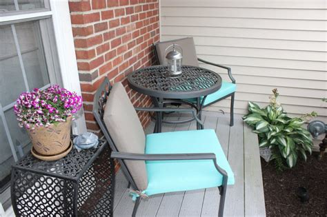 small front porch table and chairs small front porch transformed with a patio bistro set