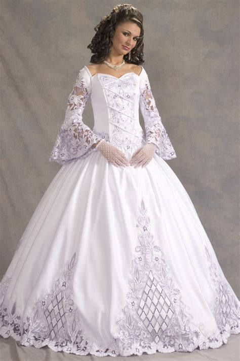 wedding gowns with sleeves dressybridal sleeve wedding dresses 2013 2014