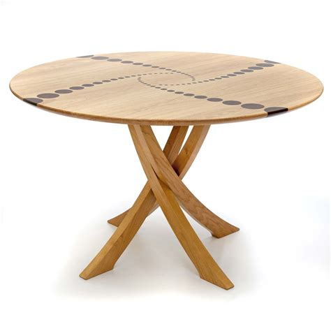 circular wooden kitchen table circular chadlington dining table makers eye mesas