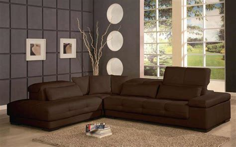gray living room with brown furniture affordable contemporary furniture for home