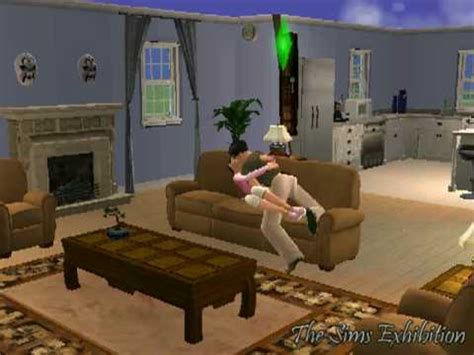 making out on the couch sims making out quot sofa scene quot sims 2 youtube