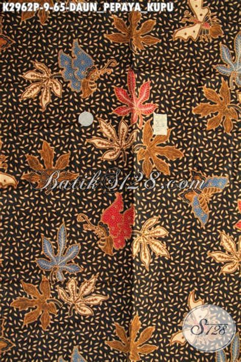 Kamen Batik Motif Daun Pepaya batik halus motif daun pepaya kupu kain batik