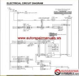 Mitsubishi Canter Wiring Diagram Mitsubishi Canter 2012 Service Manual Auto Repair Manual