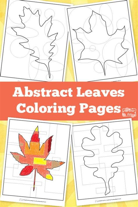 abstract leaf coloring pages abstract leaves coloring pages coloring abstract and