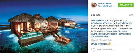 sandals bungalows water sandals overwater bungalows set for nov 2016 resorts daily
