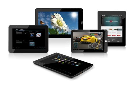 new android tablets coby electronics announces 5 new ics tablets ces 2012 tablet news net