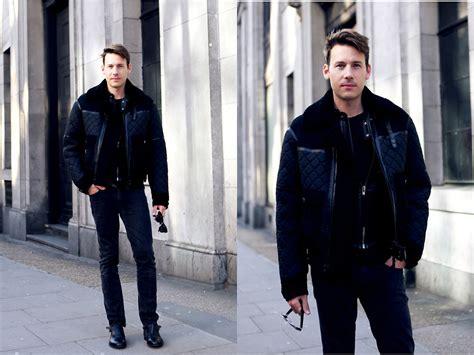 studio klaer l liam m burberry bomber jacket acne studios jeans prada