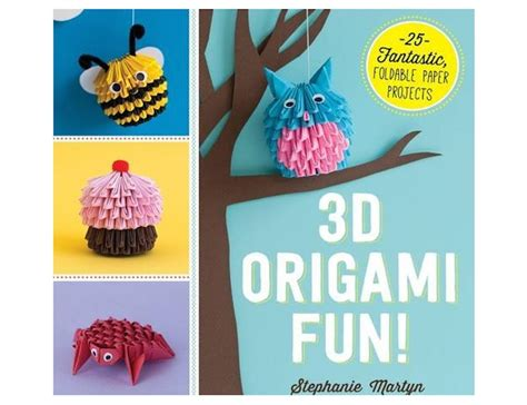Cool Origami Projects - book review 3d origami offers fresh and doable paper