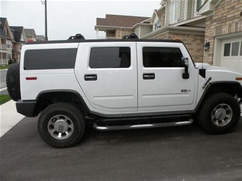 2008 hummer h2 for sale 2008 hummer h2 for sale in oakville vehicles from ontario